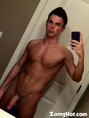 toned twink naked