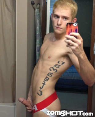 Gstrap Naked Twink